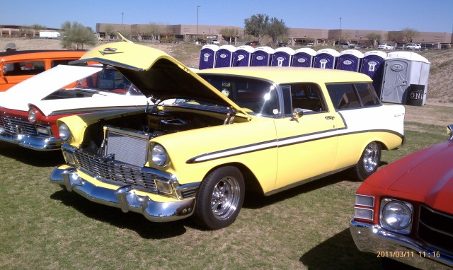 1957 Chevy Wagon - 2 doors - Great...newish LS2 Corvette engine...enough already!!!